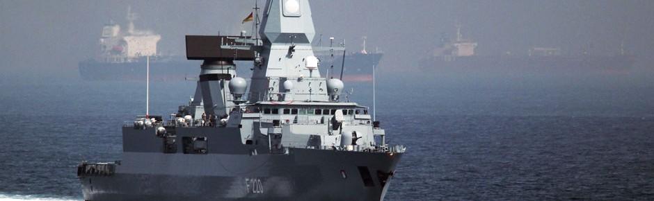 """Fregatte """"Hamburg"""" bald im Indischen Ozean?"""