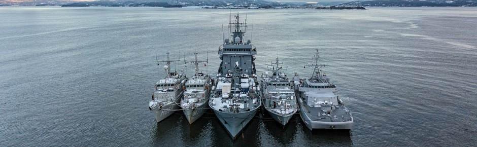 NATO-Minenabwehrverband SNMCMG 1 besucht Kiel