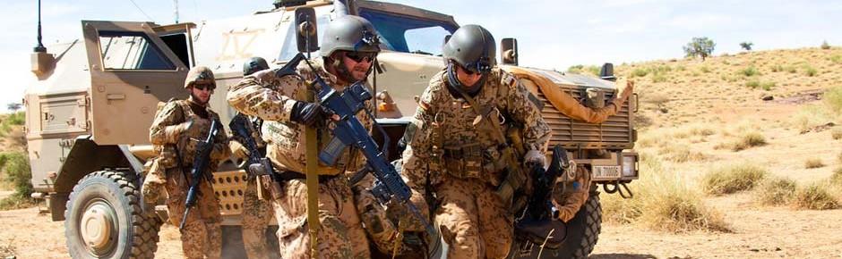 Fünf Bundeswehrsoldaten bei MINUSMA-Einsatz verletzt