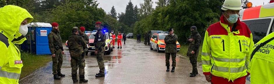 Unfall: Reizstoff aus benachbarter Spezialfirma trifft Soldaten