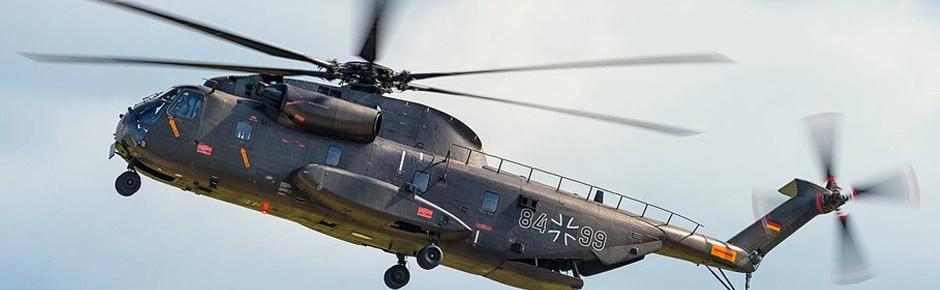 CH-53: Erneut eine Sicherheitslandung bei Schlierbach