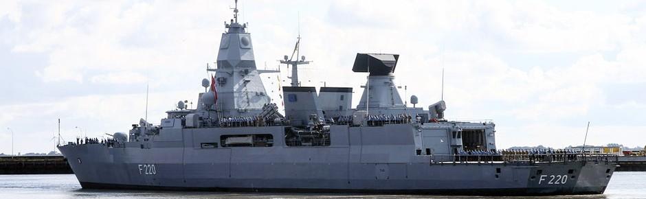 """Fregatte """"Hamburg"""" zur EU-Operation """"Irini"""" aufgebrochen"""
