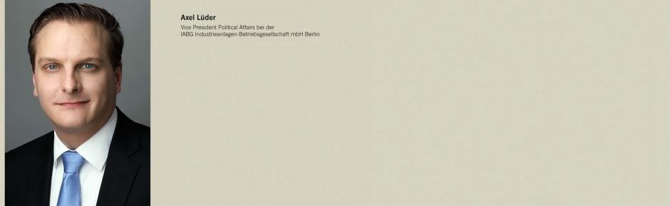 "IABG-Büro Berlin: Neuer Leiter ""Politische Beziehungen"""