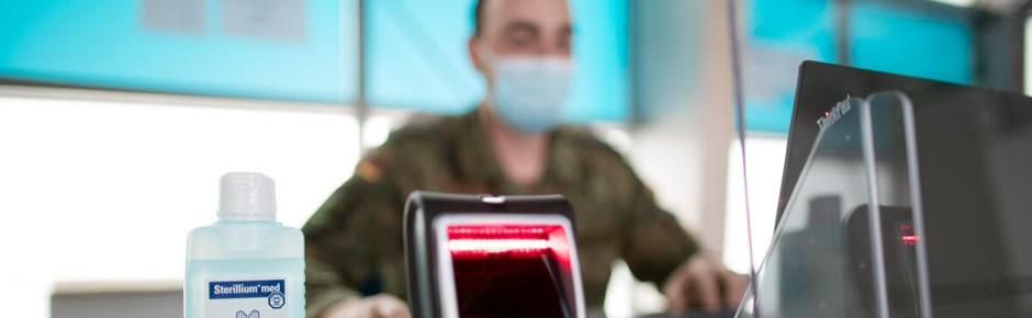 Corona: Bundeswehr erhält mehr als 1000 Amtshilfeanträge