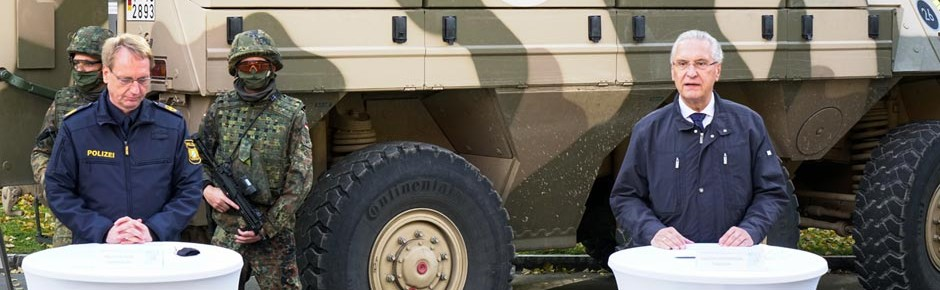 NTEX 2020: Anti-Terror-Übung von Polizei und Bundeswehr
