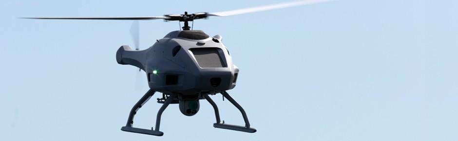 Härtetest für Hubschrauberdrohne Sea Falcon in der Ostsee