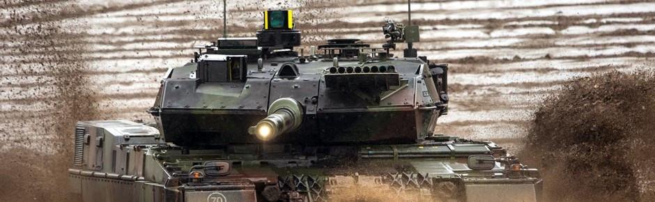 Schutzsystem Trophy™ für Kampfpanzer Leopard 2