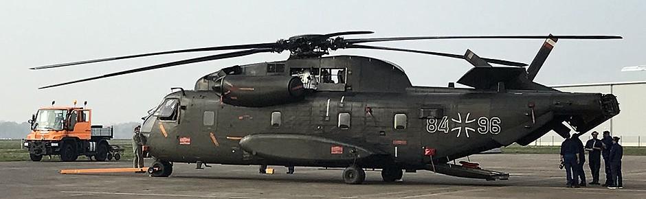 Diepholz: Wartung der CH-53G-Hubschrauber hat begonnen
