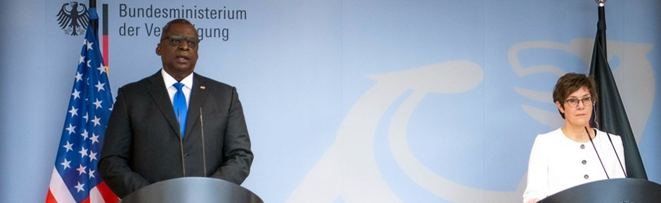 Antrittsbesuch von US-Verteidigungsminister Austin in Berlin