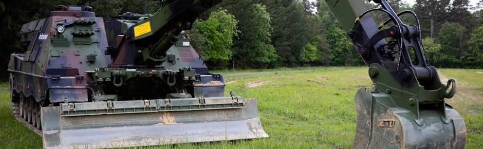 Neuer Pionierpanzer Kodiak auf Leopard-Fahrgestell