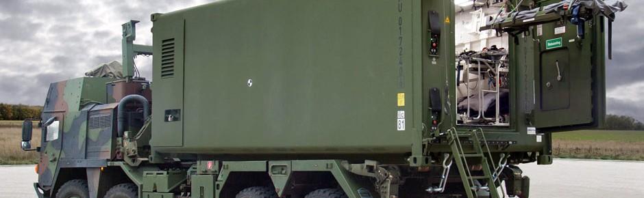 Geschützte Container für den Verwundetentransport