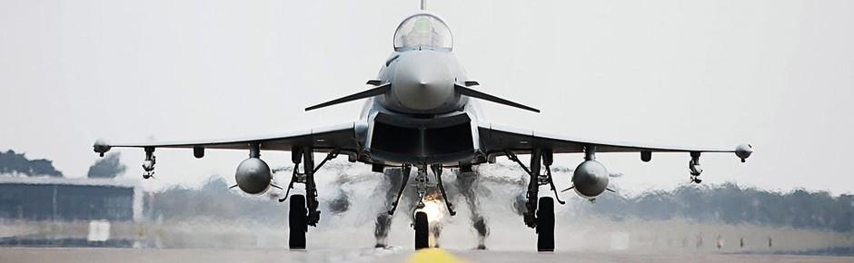 Eurofighter schützen Atomkraftwerke