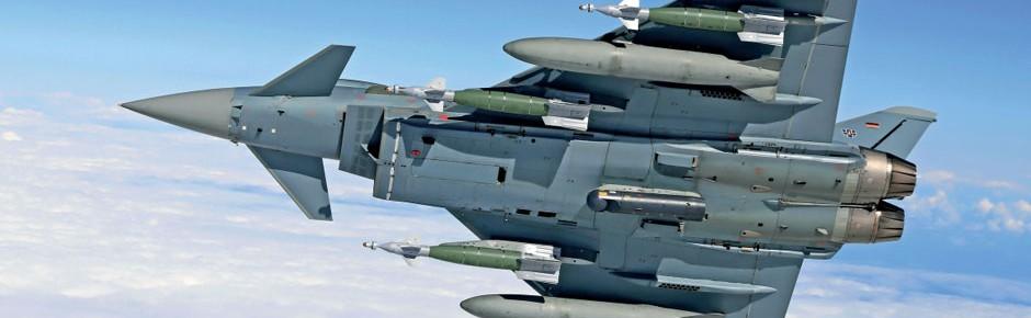 Ersatzteilversorgung für Eurofighter bis Ende 2026 gesichert