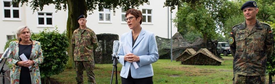 25 Jahre Korps in Münster – Ministerbesuch zum Jubiläum