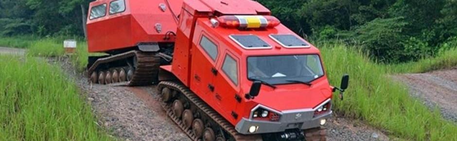Neue Löschraupen für Bundeswehr-Feuerwehr Meppen