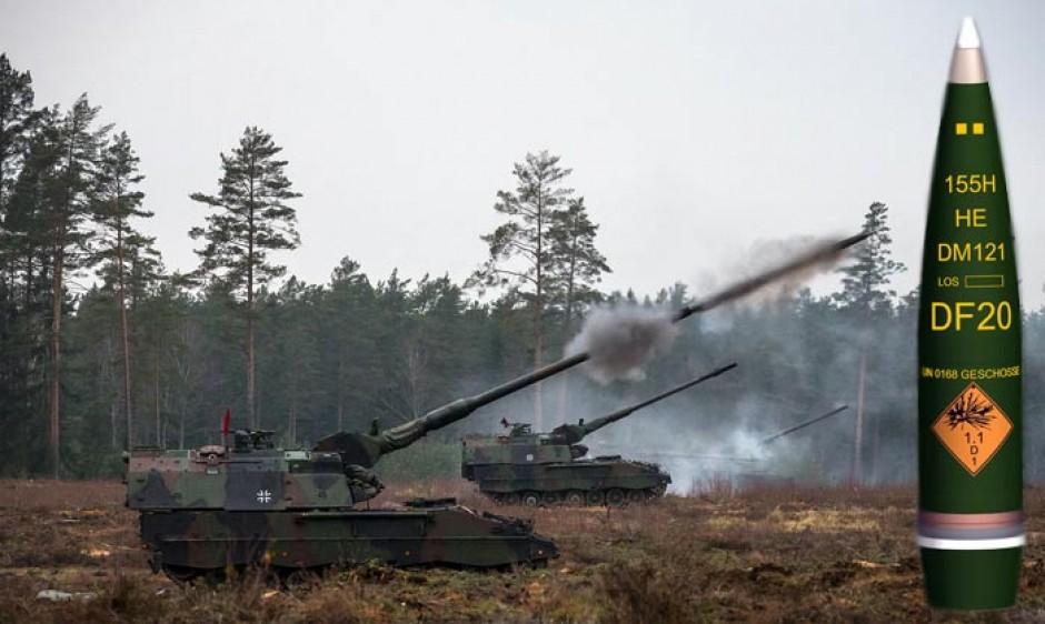Bundeswehr Munition